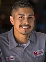 Andrew Aguilar, Service Technician at DS Auto Experts